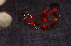 Loh Led scarf detail